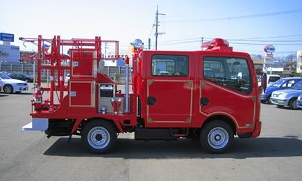 小型動力ポンプ積載車(普通車)