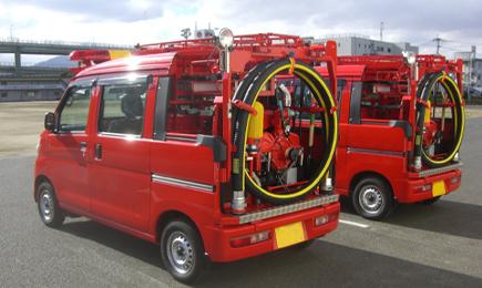 小型動力ポンプ積載車(軽自動車)